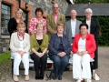 Some of the sponsors at the launch of the Saintfield Horse Show in the Rowallene Gardens in Saintfield.